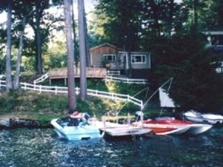 Boat and dock rentals are available at King Birch Motor Lodge hotel, Alton Bay, New Hampshire.